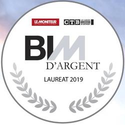 BIM D'ARGENT : SIEGE HERAULT HABITAT MONTPELLIER